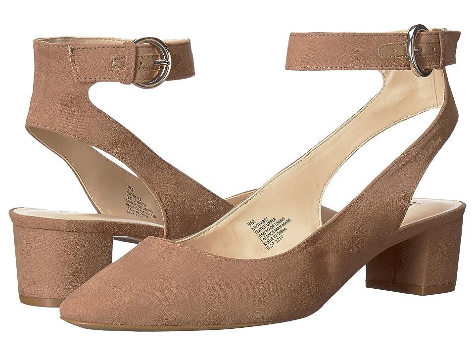 Nine West Babes (Natural Fabric) High Heels