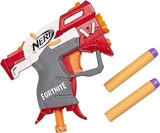 nerf fortnite ts microshots dart firing toy blaster 2 official elite darts - fortnite desert eagle nerf gun