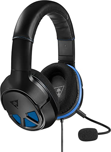 2021 Turtle Beach - Recon 150 Wired outlet online sale Gaming Headset for PS4 Pro, PS4, Xbox new arrival One, PC, Mac, and Mobile/Tablet Devices - Black/Blue outlet online sale