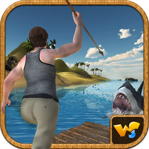 Raft Survival Island Subacuático Shark Attack