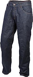 ScorpionExo Covert Pro Jeans Men`s Reinforced Motorcycle Pants (Blue, Size 42)