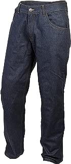 ScorpionExo Covert Pro Jeans Men's Reinforced Motorcycle Pants (Blue, Size 40)