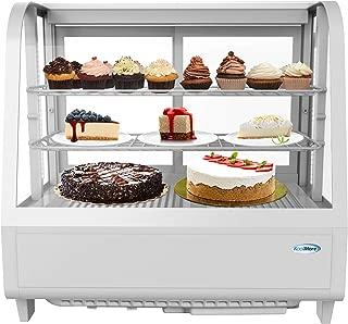 KoolMore Commercial Countertop Refrigerator Display Case Merchandiser with LED Lighting - 3.6 cu. ft