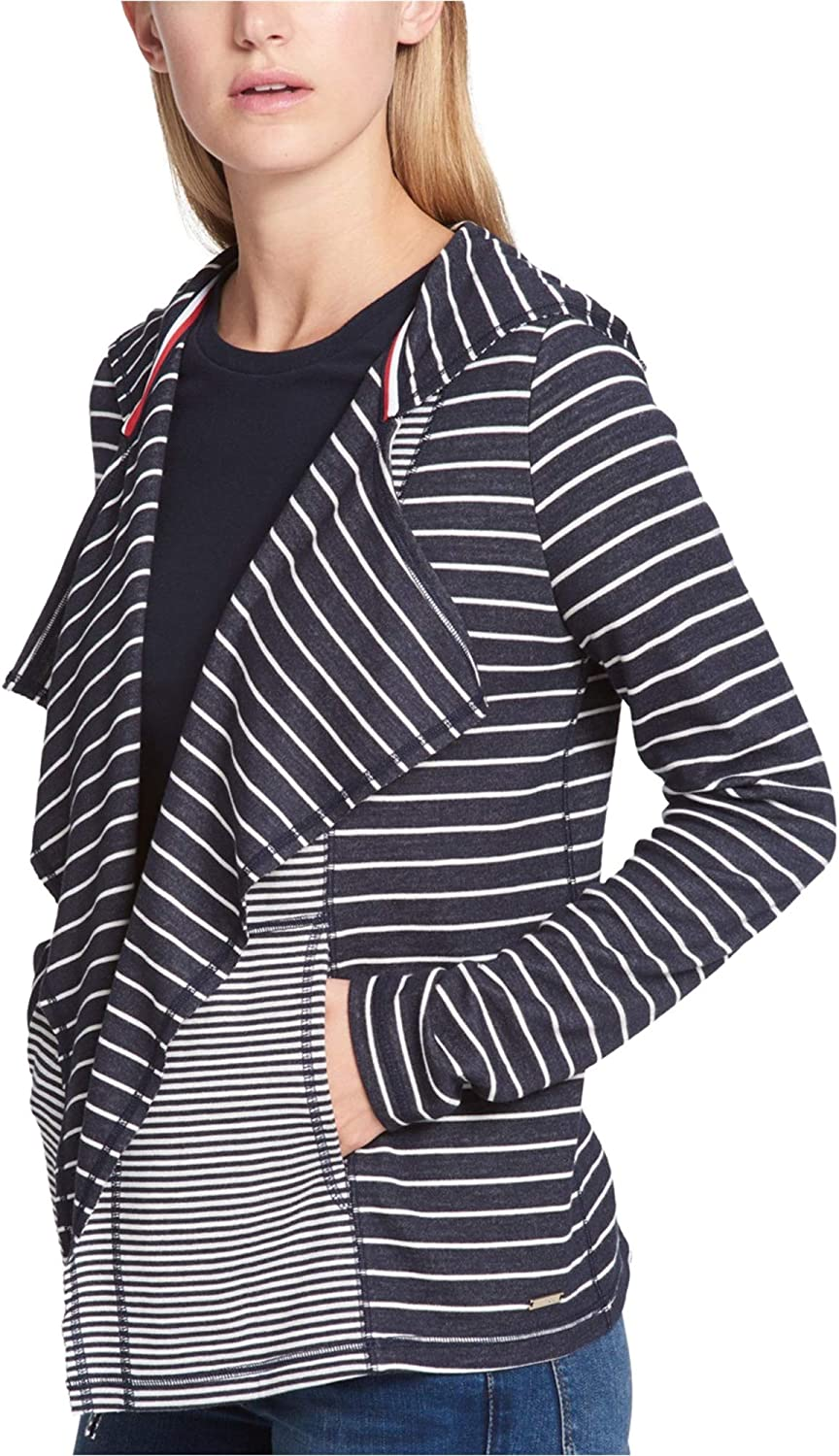 Tommy Max 82% OFF Hilfiger Womens store Hooded Sweater Cardigan