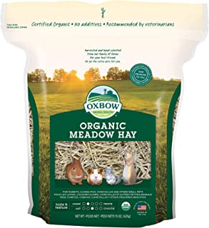 Oxbow BeneTerra Organic Meadow Hay, 15-Ounce Bag