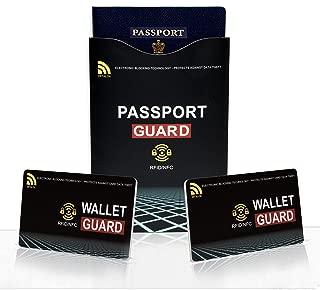 rfid family passport holder