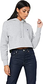 Champion Women's Sporty Cropped Hoodie