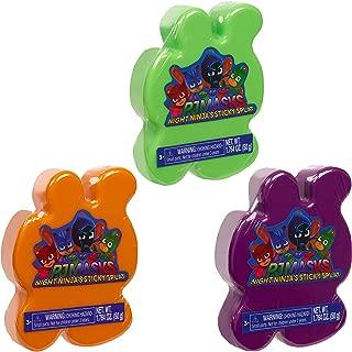 PJ Masks Sticky Splat Putty 3Pk