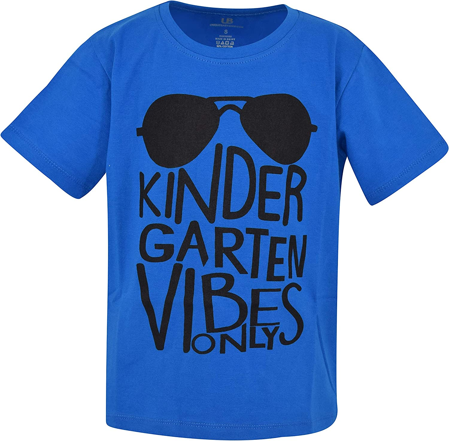 Unique Baby Boys Kindergarten Vibes Only Back to School T Shirt