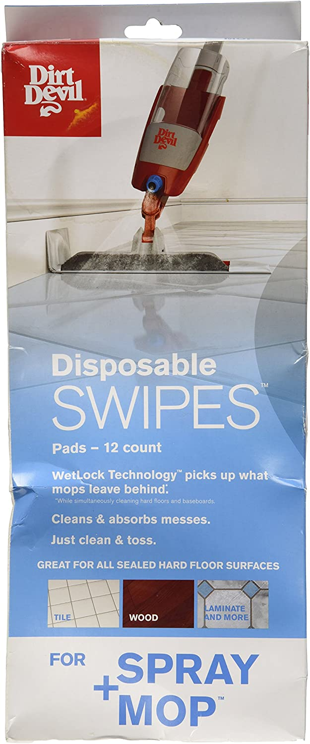 Dirt Devil Disposable Swipes Pads for Mop All items free shipping Spray Austin Mall Pac 12 AD51050
