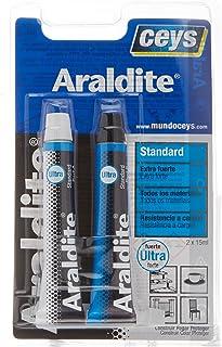 Ceys 510107 Adhesivo araldit standard blister grande, Azul,