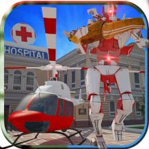 Robot Helicopter Simulator