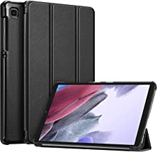Fintie Slim Case for Samsung Galaxy Tab A7 Lite 8.7 inch 2021 Model (SM-T220/T225/T227), Ultra Thin Lightweight Hard Back Shell Tri-Fold Stand Cover, Black