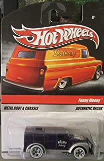 Hot Wheels Funny Money Purple 2010 Delivery Series 1:64 Scale Die-Cast Vehicle