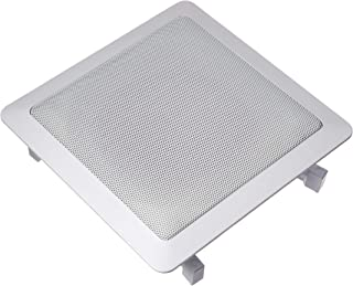Acoustic Audio S191 5.25-Inch Square 2 Way Speaker (White)