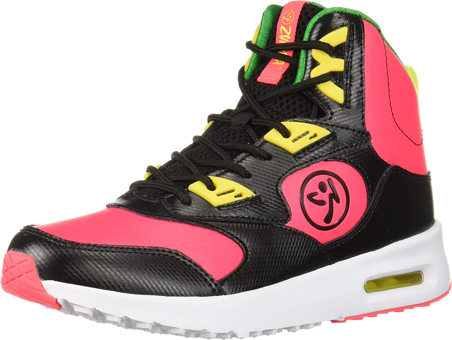 Zumba Womens Women's Air Classic Athletic Dance Workout shoes with Max Predection Dance shoes