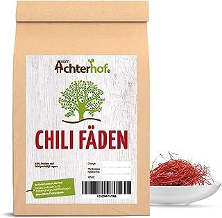 Chilifäden 50g mild aus Chilischoten fein geschnitten ein Hingucker auf jedem Gericht Chili-Fäden