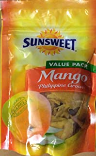 Sunsweet Mango Philippine Grown Value Pack 8 Oz (Pack of 2)