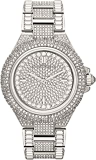 Michael Kors Womens Quartz Watch, Analog Display and Stainless Steel Strap MK5869