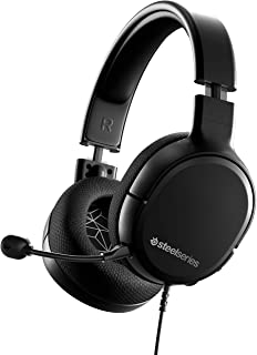 Best SteelSeries Arctis 1 Wired Gaming Headset – Detachable Clearcast Microphone – Lightweight Steel-Reinforced Headband – for PC, PS4, Xbox, Nintendo Switch and Lite, Mobile Review