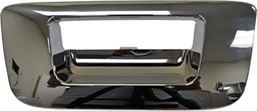 PT Auto Warehouse GM-3547M-BZK - Tailgate Handle Bezel/Trim, Chrome finish - without Keyhole