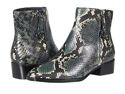 Naturalizer Henry (Green Multi Tonal Snake Leather) Women