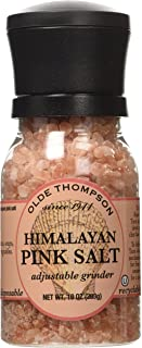 Olde Thompson, Himalayan Pink Salt, 10oz Grinder (Pack of 2)