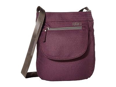 Haiku Jaunt (Blackberry) Handbags