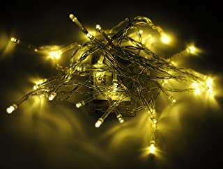 Karlling Battery Operated Warm White 40 LED Fairy Light String Wedding Party Xmas Christmas Decorations(Warm White)