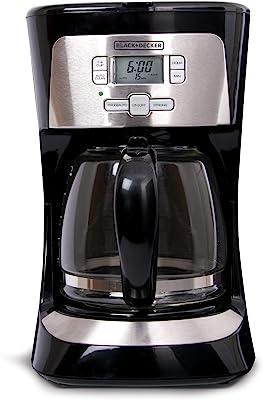 Applica CM2020B Independiente Semi-automática Drip coffee maker 12cups Negro, Plata - Cafetera (Independiente, Cafetera de filtro, De café molido, Negro, Plata)