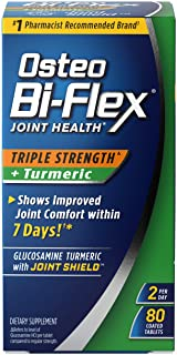 Osteo Bi-Flex Triple Strength + Turmeric, 80 Tablets
