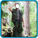 Ejército de fotos Traje Editor...