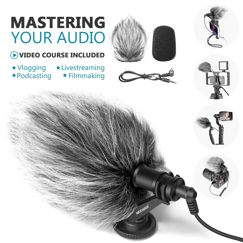 Neewer Microphone Vlogging Livestream Recording