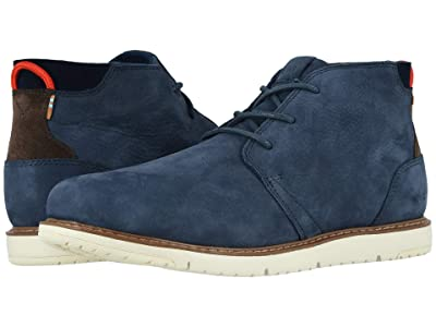 TOMS Navi (Navy Tumbled Nubuck Leather) Men