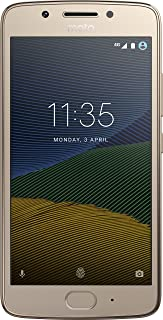 Motorola XT1671 Smartphone Moto G5 color Dorado. Double SIM,