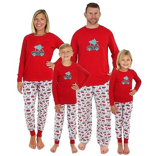 8e2bddd5ca Sleepyheads Holiday Family Matching Tree Delivery Pajama PJ Set