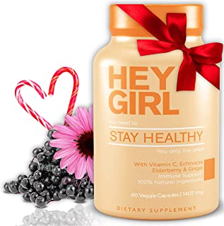 Stay Healthy Vitamins for Women - Immune Support w/ Black Elderberry , Vitamin C, and Echinacea – Immune System Booster, O...