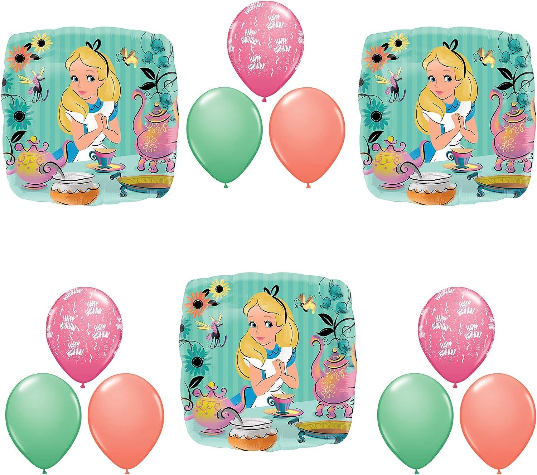 Anagram Alice in Wonderland Tea Birthday Party Balloons Decorati