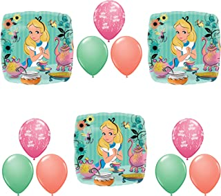 Anagram Alice in Wonderland Tea Birthday Party Balloons Decoration Supplies Madhatter
