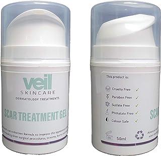Veil Scar Treatment Gel 50ml Hygienic Pump Reduce Keloid