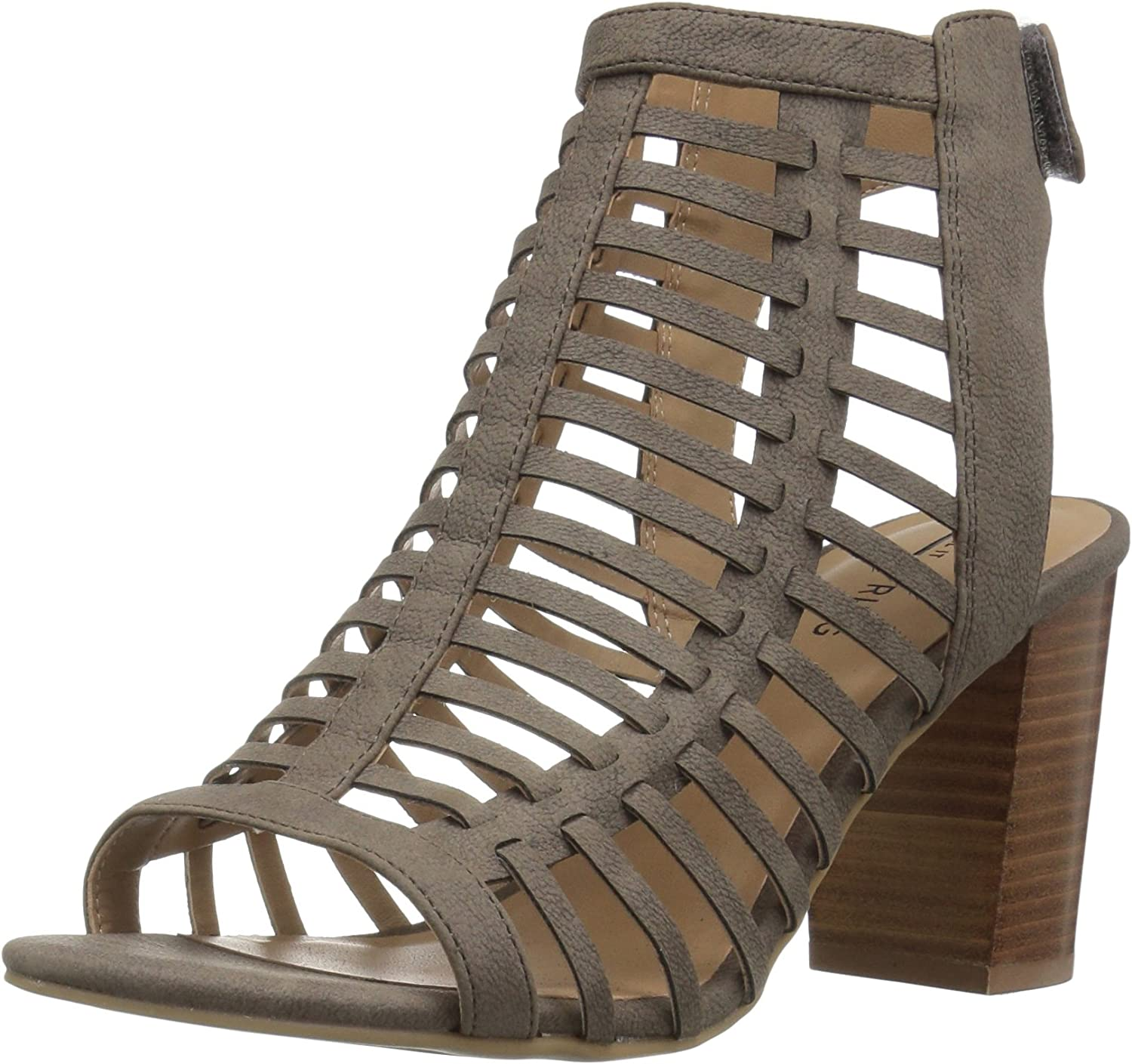 Call It Spring Womens Miriradia Heeled Sandal