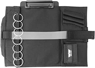 Aviate Gear Pilot Kneeboard– Includes Clipboard and 7 Rings for Attaching Approach Plates and Checklists