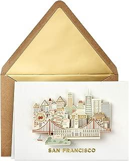 Hallmark Signature San Francisco Blank Card (San Francisco Skyline)