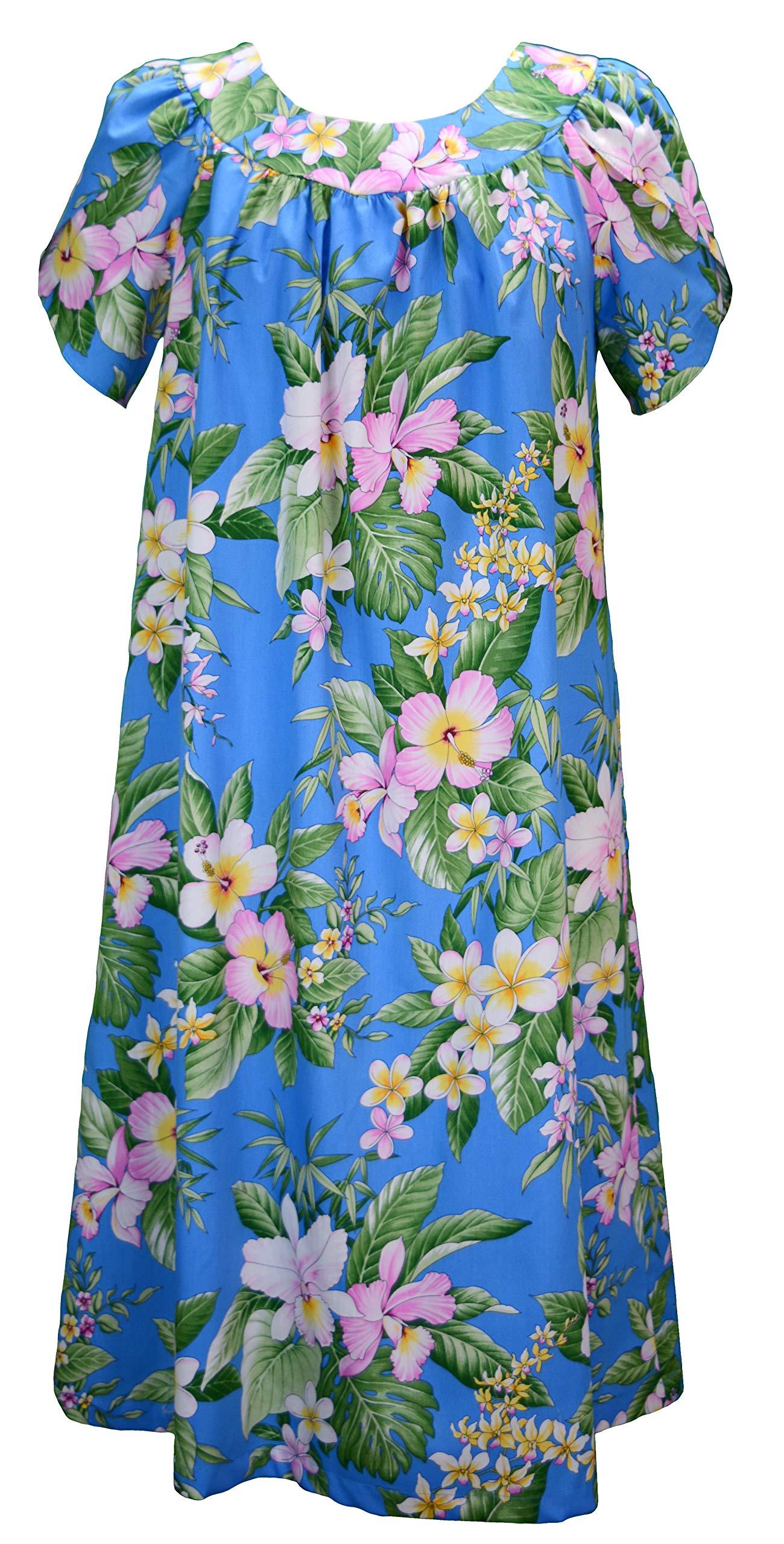 Available at Amazon: RJC Women's Maui Hibiscus Garden Muumuu Dress