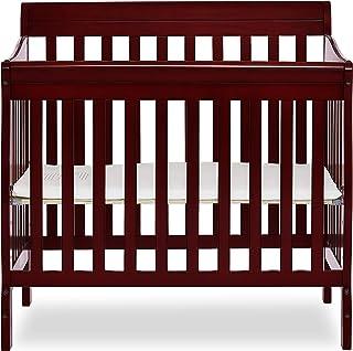 Charmant Dream On Me 4 In 1 Aden Convertible Mini Crib, Cherry