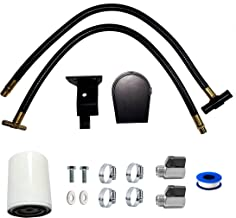 Coolant Filtration Filter System Kit fits 2003 2004 2005 2006 2007 Ford F250 F350 F450 Super Duty Pickup Excursion V8 6.0L Powerstroke Diesel
