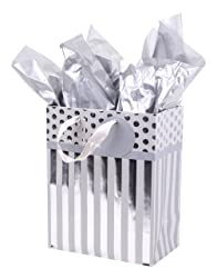 Hallmark Medium Gift Bag with Tissue Paper for Engagements, Bridal Showers, Weddings, Anniversaries,