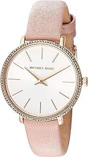 Michael Kors Women's Quartz Watch analog Display and Leather Strap, MK2803