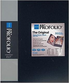 Itoya Art Portfolio 13 x 19 inches Storage Display Book, 24 Sleeves for 48 Views
