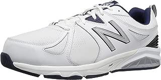 Men's mx857v2 Casual Comfort Training Shoe, White/Navy, 14 6E US